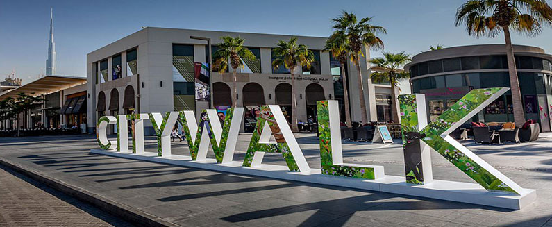 Al Safa Street City Walk – Dubai