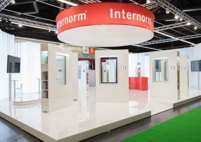 Internorm Messestand